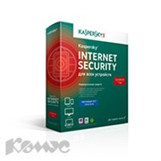 Программное обеспечение Kaspersky Internet Security 2ПК-1г/KL1941RBBFS/Box