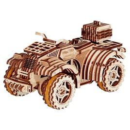Wood Trick Механический 3D-пазл из дерева Wood Trick Квадроцикл