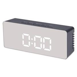 TS-S69 Электронные настольные зеркальные часы TS-S69 черные
