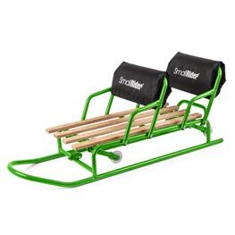 Санимобиль для двойни с колесиками (паровозиком) Small Rider Snow Twins