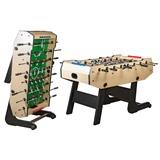 Настольный футбол (кикер) «Maccabi» (139x74x90, светлый, складной), интернет-магазин товаров для бильярда Play-billiard.ru
