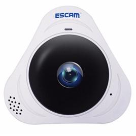 Escam Панорамная VR IP-камера ESCAM Q8 (960p) fisheye (white)