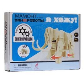 D-LEX Мамонт. Деревянный конструктор с мотором, умеет ходить