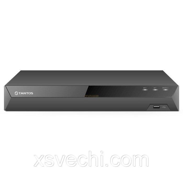 Видеорегистратор Tantos TSr-UV0410, MHD/IP, 4 канала, запись 1080P