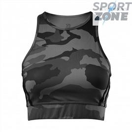 Топ Better Bodies Chelsea Halter, Dark Camo