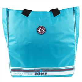 Спортивная сумка SIX PACK FITNESS (SPF) Camille Tote Blue/Wine (голубой/бордовый)