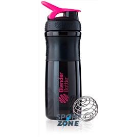 SportMixer 828мл Black/Pink [черный/малиновый]