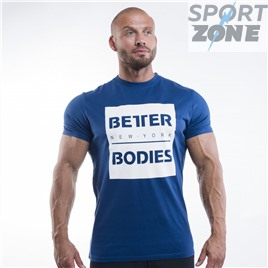 Футболка Better Bodies Casual Tee, Navy