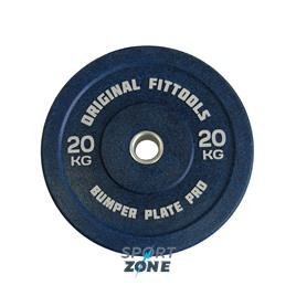 Диск бамперный 20 кг (синий)