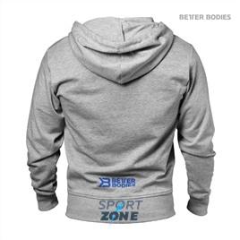 Кофта с капюшоном Better bodies Jersey hoodie, светло - серый