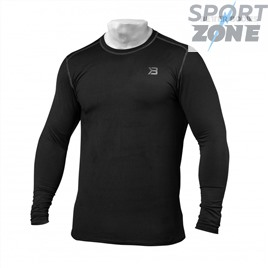 Футболка с длинным рукавом Better Bodies Performance Long Sleeve, Black