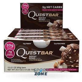 Батончик протеиновый QuestBar QuestBar Rocky Road (12 шт)