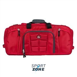 Спортивная сумка  BEAST DUFFLE красный/серый