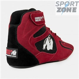 Кроссовки GORILLA WEAR CHICAGO HIGH TOPS - RED LIMITED