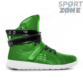 Кроссовки  Heyday Green Anaconda Super Trainer High Top Bodybuilding Sneaker