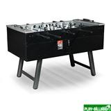 Настольный футбол (кикер) «Madrid» (145x75x86см, черный, жетоноприемник), интернет-магазин товаров для бильярда Play-billiard.ru