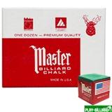 "Tweeten Мел ""Master"" (12 шт) зеленый, интернет-магазин товаров для бильярда Play-billiard.ru"