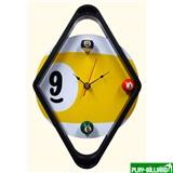 """Часы настенные """"Diamond"""" D29 см, интернет-магазин товаров для бильярда Play-billiard.ru"""
