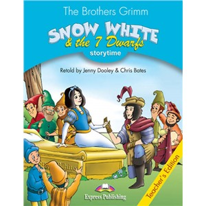 snow white & the seven dwarfs teacher's book - книга для учителя