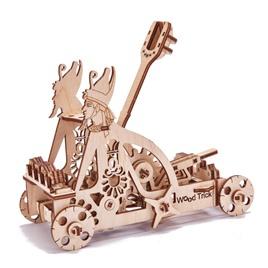 Wood Trick Механический 3D-пазл из дерева Wood Trick Катапульта