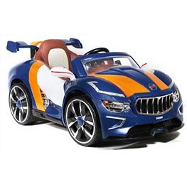 Электромобиль Maserati A222AA (кожа), синий