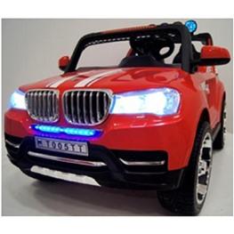 Электромобиль BMW T005TT, красный