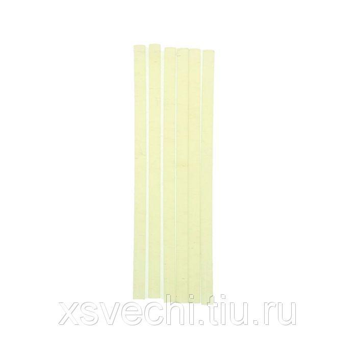 Стержни клеевые Matrix, прозрачные, 7х150 мм, набор 6 шт