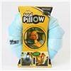Подушка-трансформер для путешествий Total Pillow (Тотал Пиллоу) Сине-голубая