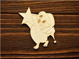 Котенок со звездой