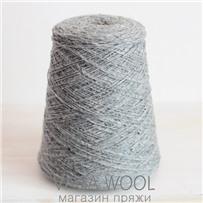 Пряжа Твид Soft Donegal Серебро 5580, 190м в 50 г. Knoll Yarns, Silver Mist