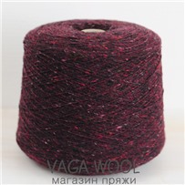 Пряжа Твид Soft Donegal Бордо 5516, 190м в 50 г. Knoll Yarns, Dingle