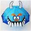 Зонт детский 3D полуавтомат Монстр со свистком и ушками №16