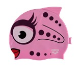 Шапочка для плавания AWT Fish Stella/Pink, силикон, 91915 91
