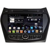 Штатное головное устройство DAYSTAR DS-7004HD для Hyundai Santa FE 2013+ ANDROID 4.4.2