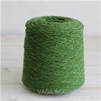 Пряжа Твид Soft Donegal Клевер 5536, 190м в 50г. Knoll Yarns, Killala