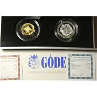 Набор ГЕНШТАБ золото и серебро в коробке 2013