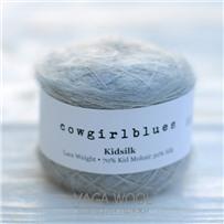 Пряжа Kidsilk solid Серебряная лиса, 225м/25г., Cowgirlblues, Silver Fox