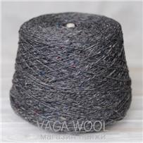 Пряжа Kilcarra tweed серый агат 4809, 80м в 50 г