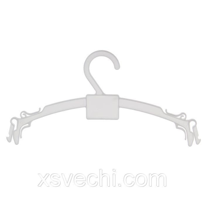 Вешалка для белья L=26, цвет белый