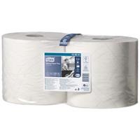 Tork Плюс протирочная бумага в рулоне белая (W1/W2)