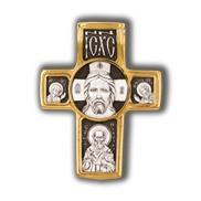 Спас нерукотворный. Святитель Николай. Архангел Михаил. Православный крест