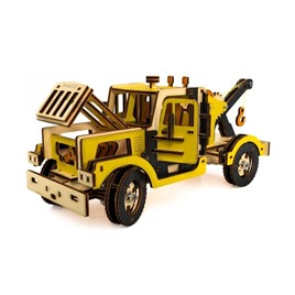 M-WOOD Конструктор 3D деревянный M-WOOD Эвакуатор