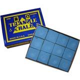 "Мел ""Triangle"" (12 шт) синий, интернет-магазин товаров для бильярда Play-billiard.ru"