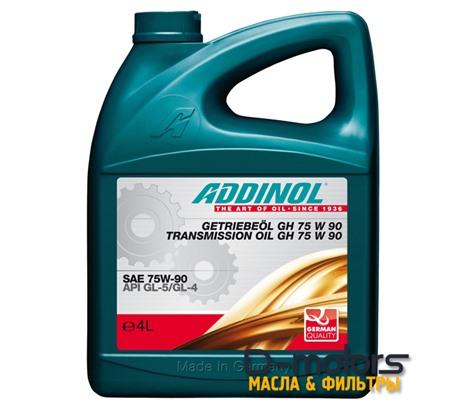 ADDINOL GH 75W-90 GL-4/GL-5 (4л)