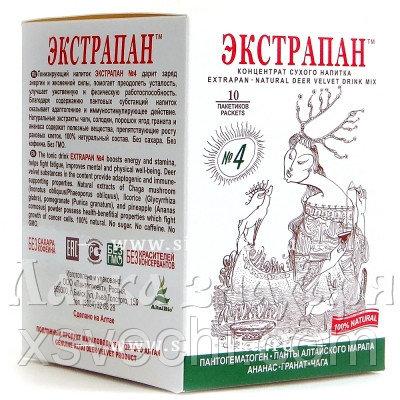 Напиток «Экстрапан» №4 для профилактики опухолевых заболеваний
