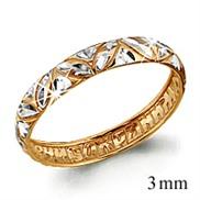 Кольцо с гравировкой, золото 585°