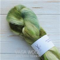 Пряжа Kidsilk multicolor олива/вереск/весна/шалфей, 450м/50г, Cowgirlblues