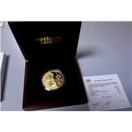 """Монета """"Флора Сочи"""", золото, 1000 руб., 2014 г"""
