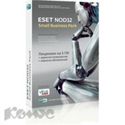 Программное обеспечение ESET NOD32 SMALL Business Pack(5ПК/1г)SBP-NS(BOX)-1-5