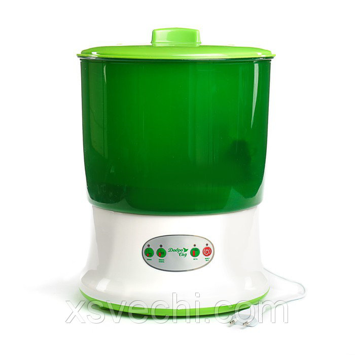 Проращиватель семян ДоброСад стройность DS01, зеленый